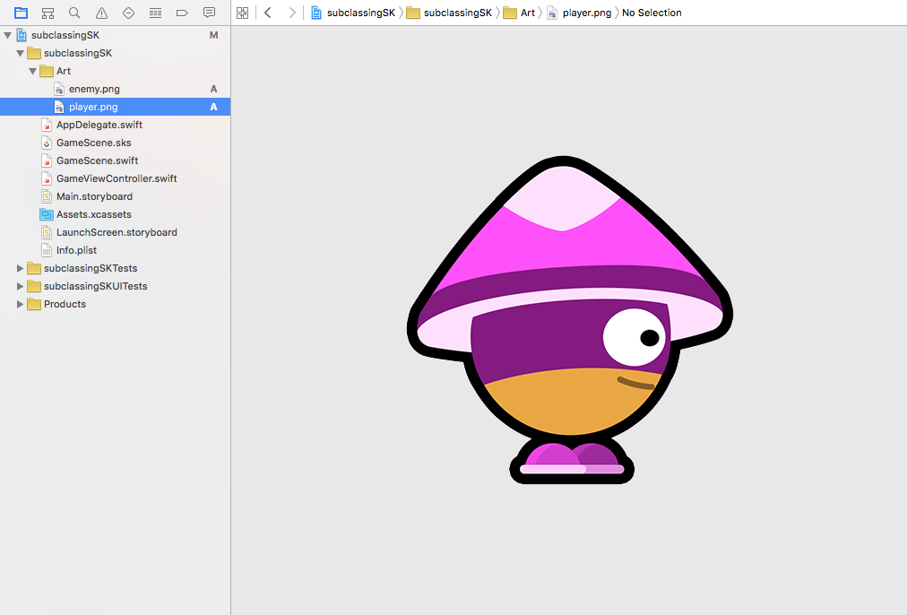 SpriteKit Game From Scratch, Swift 2 0, part 1